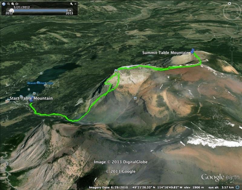 Table Mountain Route