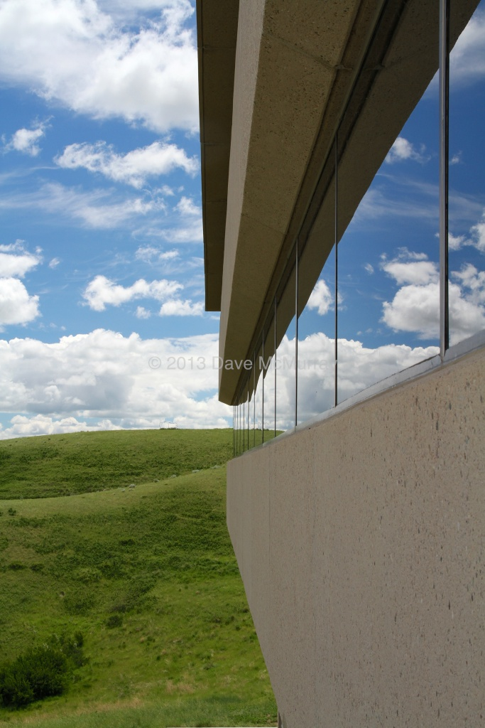 UHall on a Spring Day at The University of Lethbridge
