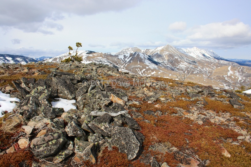A Vision Quest Site on Robertson Peak