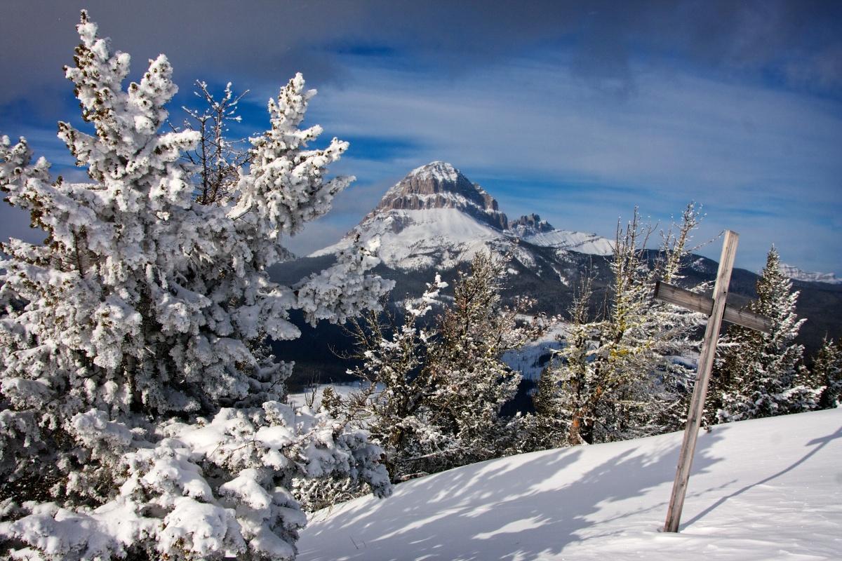Wedge Mountain, 1 February 2014