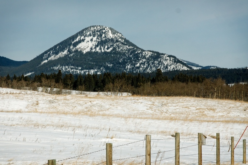 Wedge Mountain from the west