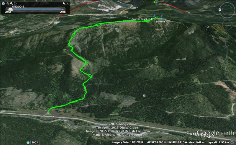 Loop Ridge Map 1