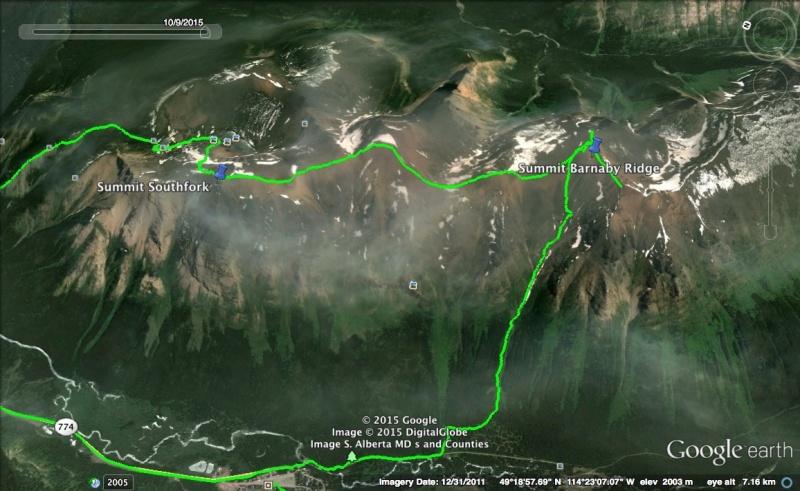 Barnaby Ridge Map 3
