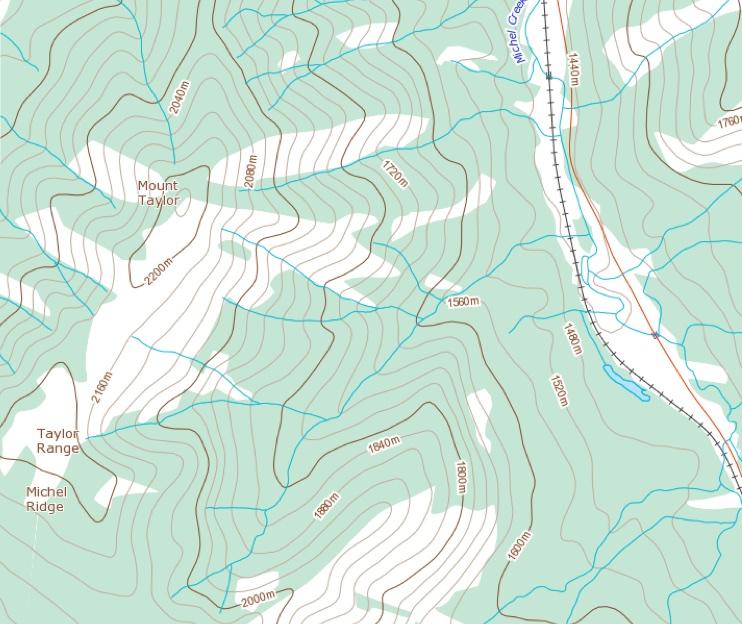 Mount Taylor Topo (1)