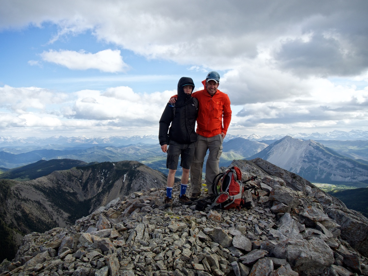 Morin Peak, 28 May 2016